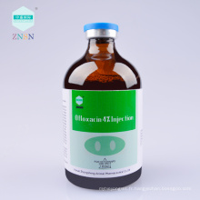 Échantillon gratuit bas prix Ofloxacin 4% Injection