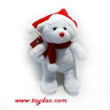 Plüsch Weihnachten Eisbär