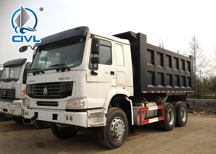 White 6x4 Tipper Truck 1