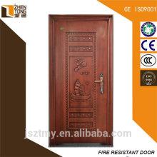 Chinês frente portas exteriores de aço à venda