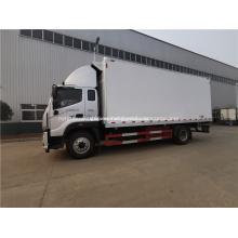 camión de comida congelada 4x2 entrega de mariscos camión frigorífico