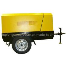 Compresseur d'air rotatif à vis rotative mobile à moteur diesel (42scg 42kw)