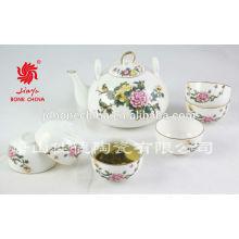 Clásico de moda de diseño simple cena de porcelana juegos de té de cerámica