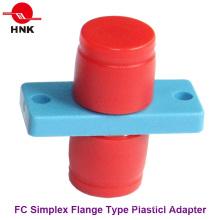 FC Simplex Tipo Flange Plástico Fibra Óptica Adaptador
