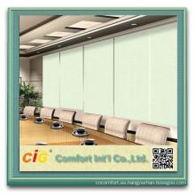 blackout motorized roller blinds/polyester breathable blackout fabric/blackout fabric for blinds
