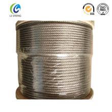 Cable de acero galvanizado 6x7 4mm