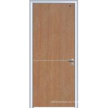 Tipos de porta de madeira do folheado, portas exteriores originais, porta interior da laca UV