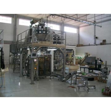 Vollständige automatische Lebensmittelverpackungsmaschine Produktionssystem