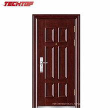 ТПС-128 горячей продажи популярных Нигерия дизайн металлических дверей наружных