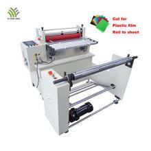 Corte automático de materiais de borracha para máquina de folha