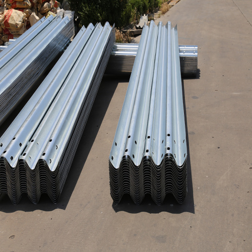 Stahl Highway Safety Guardrail Plate Crass Barrier