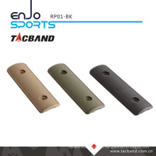 Tacband Tactical Keymod Rail Panel / Cover - 4 Inch Black