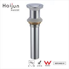 Haijun caliente venta cromada baño bañera Pop Up drenar el fregadero de agua
