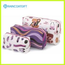 Imprimé 3PCS Ensembles de sac de maquillage Rbc-025