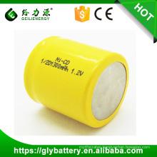 Cheap Price wholesale OEM 1300mah nicd 1.2v ni cd battery recharge battery