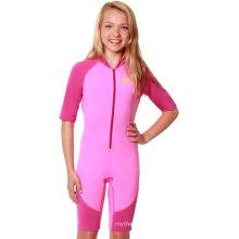 Traje de baño de una sola pieza para niñas con protección UV (fabricante de trajes de baño)