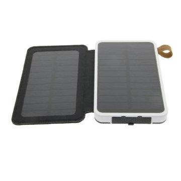 Regalo plegable del cargador del banco del poder del teléfono móvil del panel solar en clase de alta calidad