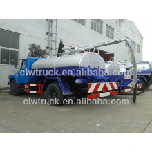 Best Qualit Dongfeng mini fecal suction truck,6m3 fecal tanker truck for sale