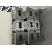 Extrudeuse pièces de machine barillet élément de vis