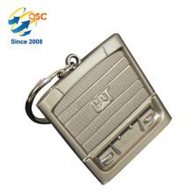 Venta caliente Barato Promocional Custom Custom Coin Keychain Souvenir