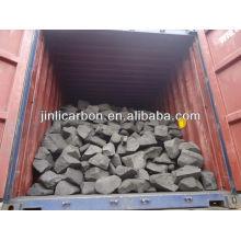 anode scrap/carbon block/burning fuel for copper smelting