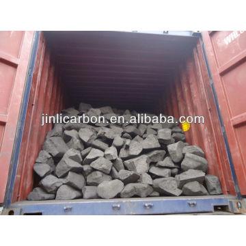 sucata de ânodo / bloco de carbono / queima de combustível para fundição de cobre