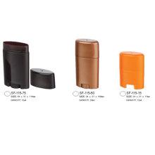 Tubos de desodorante de recipiente oval desodorizante antiperspirante atacado