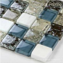 Boden & Wand Mosaik / Kristall und Stein Mosaik / Glas Mosaik / Mosaik Fliese (HGM212)