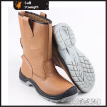 Cuir véritable hiver sécurité Rigger Boot avec embout d'acier (SN5340)