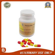 Médicaments vétérinaires de la capsule de tétracycline (250mg)