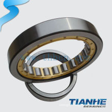 NU type axial cylindrical roller bearing with brass bush NU312