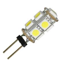G4 bombillas LED con 9 5050 chips SMD Epistar 25W Cápsula de halógeno