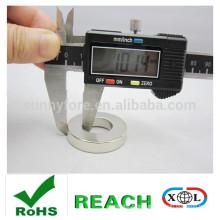 Nickel-Beschichtung Ringmagnet