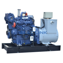 90kw 122HP Electric Start Space Marine Name Generator Powered By Weichai Engine WP6CD132E200 Hot Sales
