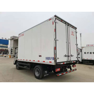 Foton freezer truck for fresh vegetables transportation