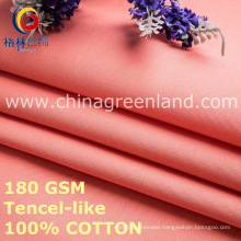 Solid Cotton Tencel-Like Fashion Fabric for Clothes Textile (GLLML458)
