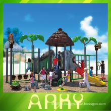 L'équipement de terrain de jeux pour enfants en plein air profite de votre enfance