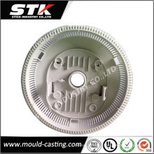 Fabricante moldeado por inyección, piezas de plástico de inyección de plástico blanco de alta precisión