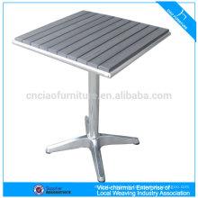 Table basse extérieure en bois en plastique (CF646T)