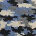 75% poliéster 25% acrílico de tecido de lã impressa multi cores