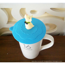 2014 New FDA LFGB Cup Cover Silicone Lid