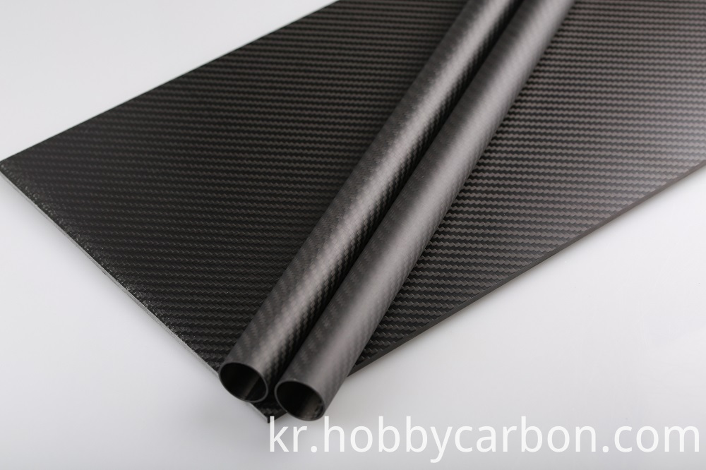 carbon fiber plate and tubes