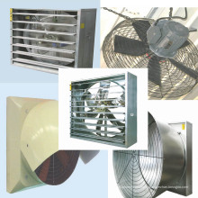 Ventiladores de ventilação de alta qualidade das aves domésticas para a casa da exploração avícola