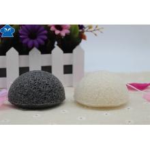 Foco Orgânico Atacado Bamboo Charcoal Konjac Cleansing Sponge