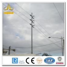 Línea de transmisión eléctrica Steel Pole