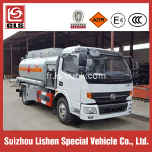 4 x 2 Dongfeng 6000L Refuel Tank Truck camion de ravitaillement