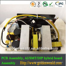 pcb prototype assembly Electronic circuit assembly for power controller board