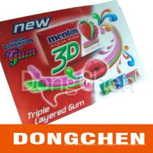 Impresión de la caja del cartel del marcador de la imagen 3D