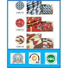 Heißer Verkauf Tausend Designs Lager 100% Baumwolle Gedruckt Leinwand Stoff Gewicht 165GSM Breite 150 cm