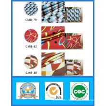 Vente chaude Mille Designs Stock 100% Coton Imprimé Toile Tissu Poids 165GSM Largeur 150 cm